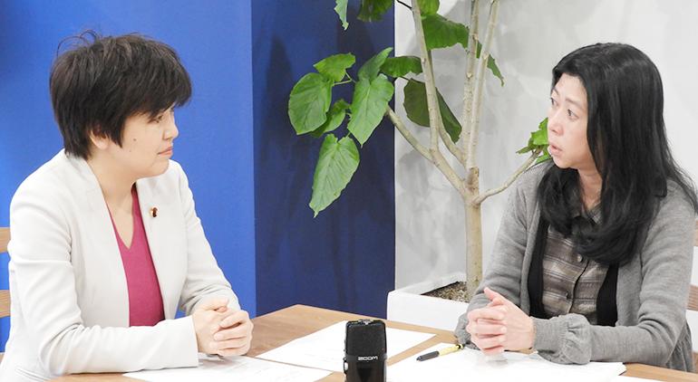 立憲民主党大阪府連・幸田泉さんインタビュー